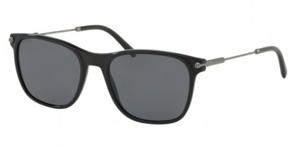 Bvlgari 0BV7032 544881 Black Matte Black - Polarized Grey