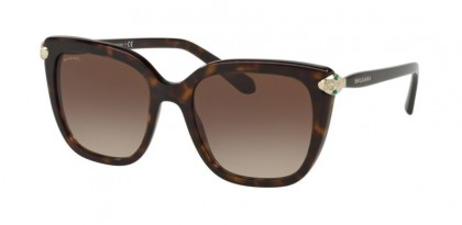 Bvlgari 0BV8207B 504/13 Dark Havana - Brown Gradient