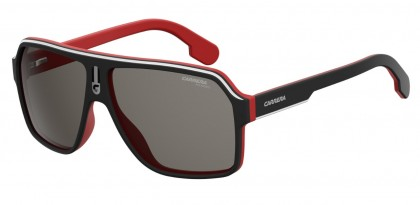 CARRERA 1001/S BLX (M9) Black Crystal Red - Grey Polarized