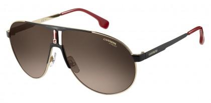 CARRERA 1005/S 2M2/HA Black Gold - Grey Brown Shaded