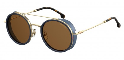 CARRERA 167/S KY2/70 Blue Gold - Brown