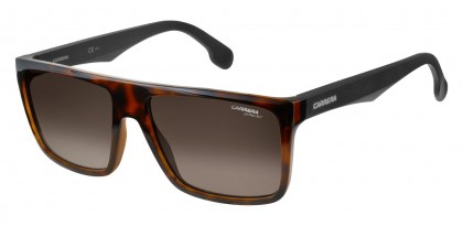 CARRERA 5039/S 2OS/HA Matte Havana Black - Brown Shaded