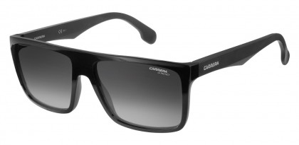CARRERA 5039/S 807/9O Black - Grey Shaded