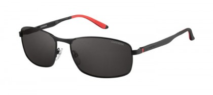 CARRERA 8012/S 003  (M9) Matte Black - Grey Polarized