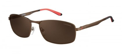 CARRERA 8012/S J8P  (SP) Brown - Bronze Solid Tint Polarized