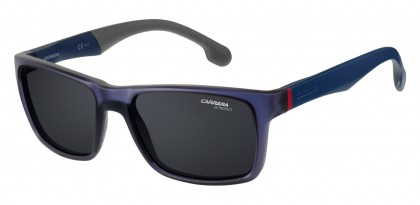 CARRERA 8024/S RCT/IR Matte Blue - Grey