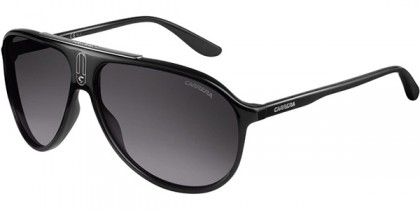 Carrera CARRERA 6015/S D28/IC - Shiny Black / Grey Shaded