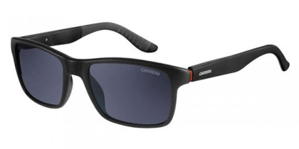 Carrera CARRERA 8002 DL5/TD - Matte Black / Grey Polarized