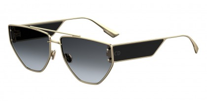 Christian Dior DIORCLAN2 J5G/1I Gold Black - Gray Gradient