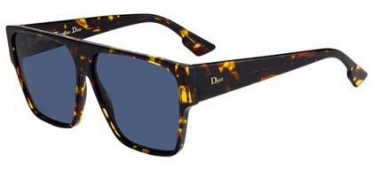 Christian Dior DIORHIT P65 (A9) Havana - Blue