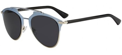 Christian Dior DIORREFLECTED TK1 (IR) Light Blue Shaded Silver Black - Grey Blue