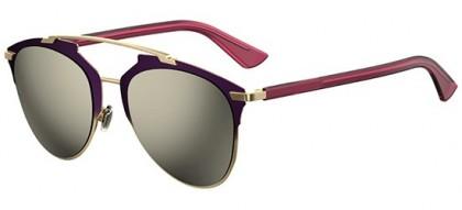 Christian Dior DIORREFLECTED TYJ (UE) Purple Shaded Gold Fuchia - Grey Ivory Mirror