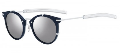 CHRISTIAN DIOR HOMME DIOR0196S MZL  (DC) Blue Matte White - Extra White Multilayer