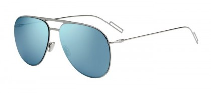 CHRISTIAN DIOR HOMME DIOR0205S 6LB (3J) Ruthenium - Light Blue Mirror