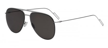 CHRISTIAN DIOR HOMME DIOR0205S KJ1 (NR) Dark Ruthenium - Brown Grey