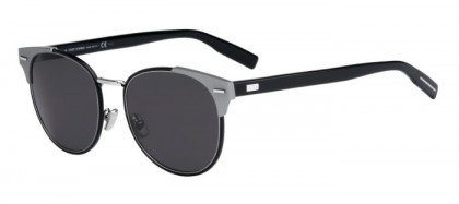 CHRISTIAN DIOR HOMME DIOR0206S SVN (Y1) Ruthenium Black - Grey