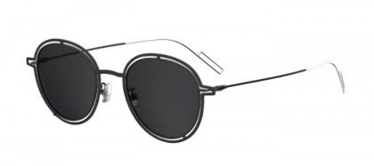 CHRISTIAN DIOR HOMME DIOR0210S S8J (Y1) Ruthenium - Dark Grey