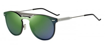 CHRISTIAN DIOR HOMME DIOR0211S KJ1 (S4) Dark Ruthenium - Green Mirror