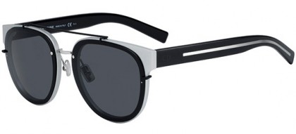 Dior Homme BLACKTIE143SA 02S (IR) Silver Matte Black - Grey