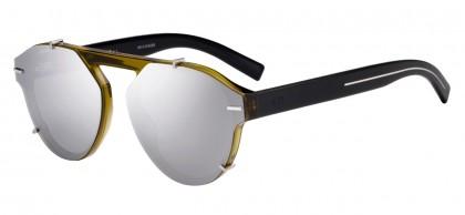 Dior Homme BLACKTIE254S G6M/0T Khaki Crystal Black - Grey
