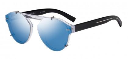 Dior Homme BLACKTIE254S MNG/C8 Crystal Black - Grey Blue