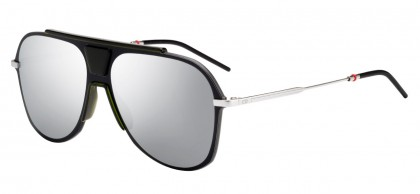 Dior Homme DIOR0224S 3OL/0T Matte Black Alluminium Green - Grey