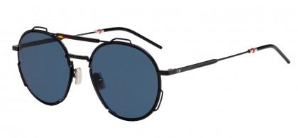 Dior Homme DIOR0234S WR7/A9 Black Havana - Blue