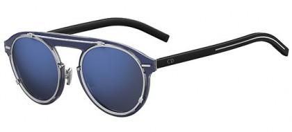 Dior Homme DIORGENESE OXZ (XT) Crystal Blue Silver Black - Grey Blue