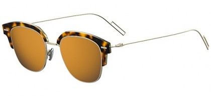 Dior Homme DIORTENSITY 2IK (83) Havana Gold - Grey Orange