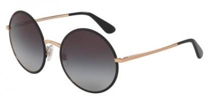Dolce & Gabbana 0DG2155 12968G Matte Black - Grey Gradient