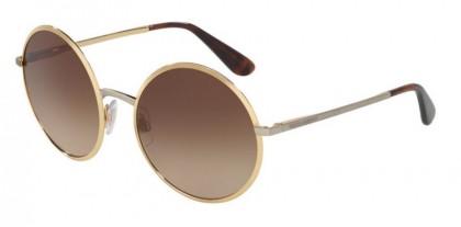 Dolce & Gabbana 0DG2155 129713 Gold - Brown Gradient