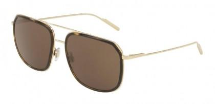 Dolce & Gabbana 0DG2165 132673 Pale Gold Havana - Brown