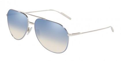 Dolce & Gabbana 0DG2166 1325V6 Azure/Silver - Clear Gradient Blue Mirror Sil