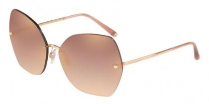 Dolce & Gabbana 0DG2204 12986F Pink Gold - Gradient Pink Mirror Pink