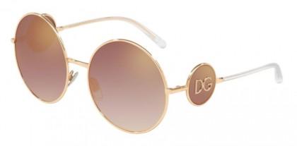 Dolce & Gabbana 0DG2205 12986F Pink Gold - Gradient Pink Mirror Pink