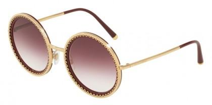 Dolce & Gabbana 0DG2211 02/8H Gold Bordeaux - Violet Gradient