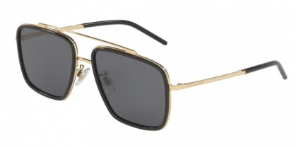 Dolce & Gabbana 0DG2220 02/81 Gold/Black - Polar Grey