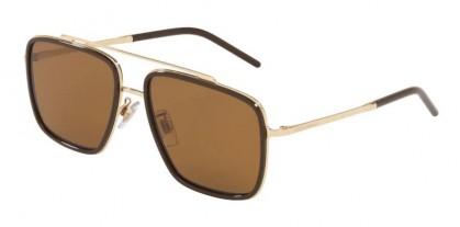 Dolce & Gabbana 0DG2220 488/83 Pale Gold/Brown - Dark/Light Brown Gradient