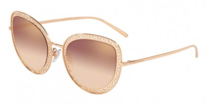 Dolce & Gabbana 0DG2226 12986F Pink Gold - Gradient Pink Mirror Pink