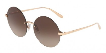Dolce & Gabbana 0DG2228 129813 Rose Gold - Brown Gradient