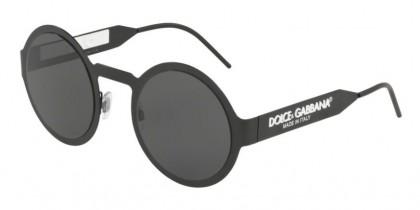 Dolce & Gabbana 0DG2234 110687 Matte Black - Grey