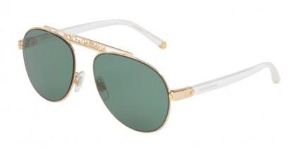 Dolce & Gabbana 0DG2235 02/82 Gold - Green