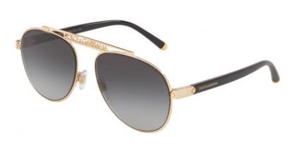 Dolce & Gabbana 0DG2235 02/8G Gold - Grey Gradient