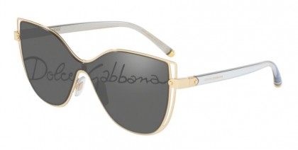 Dolce & Gabbana 0DG2236 02/P Gold - Dark Grey Tampo Corsivo