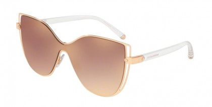 Dolce & Gabbana 0DG2236 12986F Pink Gold - Gradient Pink Mirror Pink