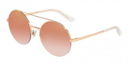 Dolce & Gabbana 0DG2237 12986F Pink Gold - Gradient Pink Mirror Pink