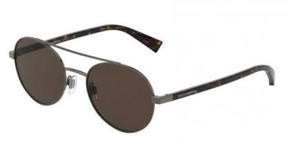 Dolce & Gabbana 0DG2245 133673 Bronze/Matte Brown - Brown