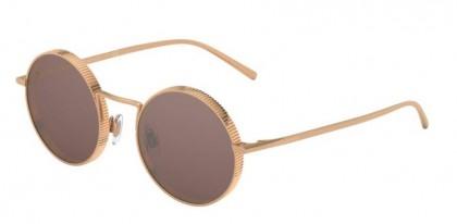 Dolce & Gabbana 0DG2246 129808 Pink Gold - Brown Mirr Silver Int Violet