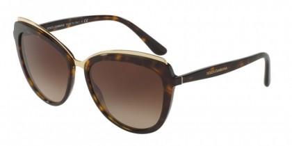Dolce & Gabbana 0DG4304 502/13 Havana - Brown Gradient