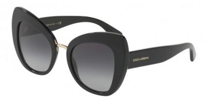 Dolce & Gabbana 0DG4319 501/8G Black - Grey Gradient